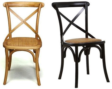 X Back Bistro Chair Dining Chairs X Back