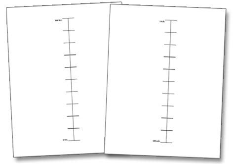 timeline template for pages printable blank timeline template