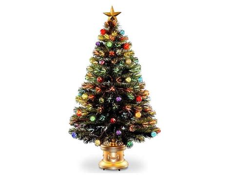 top 10 best decorated pre lit christmas trees for 2017