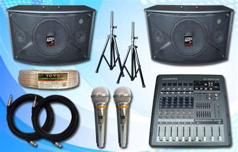 Daftar Mixer Audio Sound System 3 daftar harga sound system mixer speaker microphone