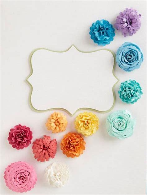 How To Make Handmade Flowers From Fabric - diy flores de colores para decorar la pared paperblog