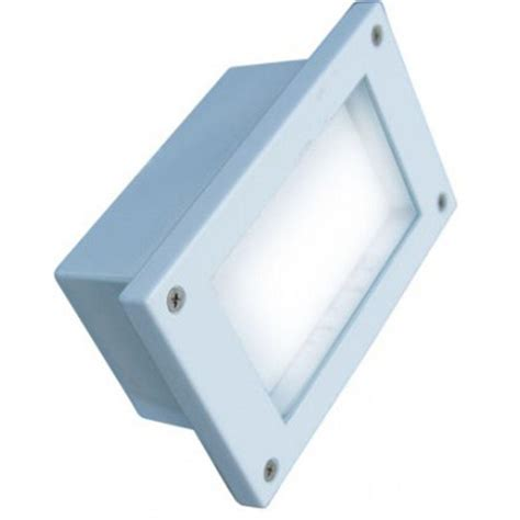 Outdoor Led Pot Lights Filament Design Ashler 48 Light White Outdoor Led Recessed Step Light Cli Dbm4721 The Home Depot