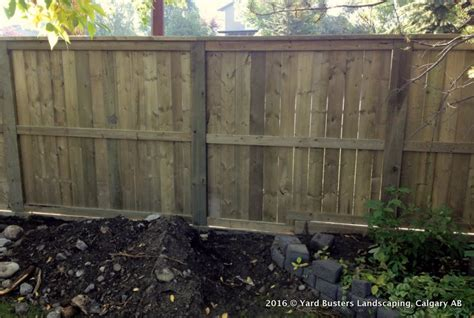 backyard fences and decks 11 decks and fences by yard busters yard busters