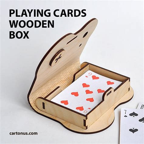Wood Boardgame Card Holder Template by Cards Gift Packaging Project Plan For Laser