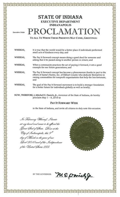 proclamation templates awesome official proclamation template contemporary