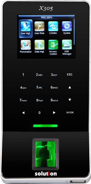 Mesin Absensi Sidik Jari Merk Solution mesin absensi sidik jari mesin absensi fingerprint akses kontrol pintu cctv