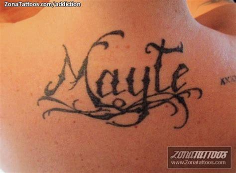 imagenes tatuajes q digan gustavo tatuajes y dise 241 os del nombre mayte zonatattoos