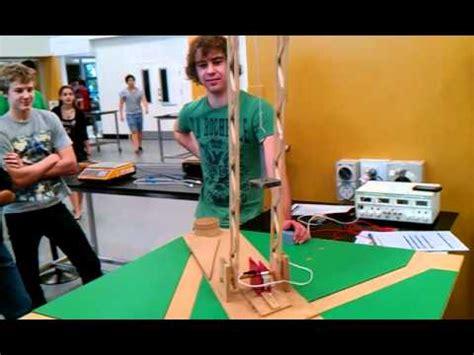 qut design guidelines qut enb150 project testing swing arm youtube