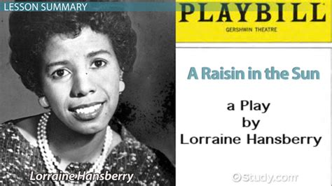 themes in a raisin in the sun by lorraine hansberry a raisin in the sun summary characters themes