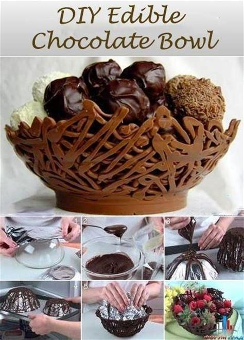 diy meaning diy edible chocolate bowl totally gives all new meaning