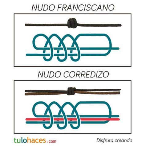 nudo franciscano corredizo nudos macram 233 nudo franciscano y nudo corredizo