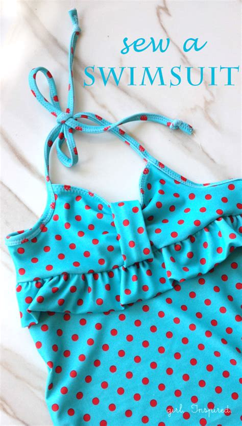 girls swimsuit sewing pattern you can sew a swimsuit girl inspired