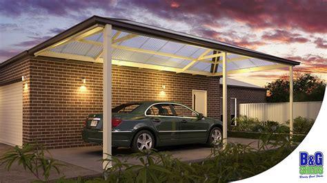 Lysaght Carport by Verandah Carport Builders Melbourne B G Sheds