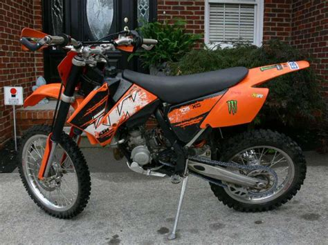 Ktm Us 2008 Ktm 105 Xc Dirt Bike For Sale On 2040motos