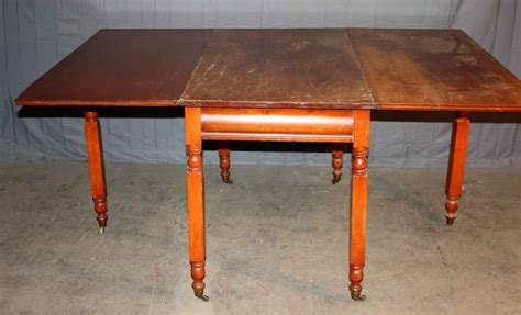 antique cherry dining table with leaves olde things