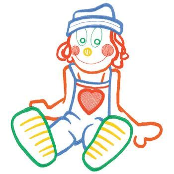 rag doll outline rag doll outline embroidery designs machine embroidery