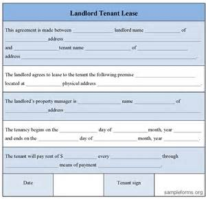 landlord tenant lease agreement template divorce agreement form sle divorce agreement form