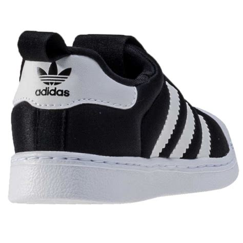 Adidas Toddler 1 adidas superstar 360 i toddler trainers in black white
