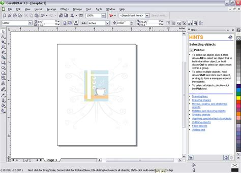 tutorial vektor coreldraw x3 related image with suite coreldraw x3