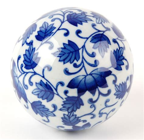 Decorative Sphere by Ceramic Sphere Decorative Orb Globe Home Gift 4 Quot A Ebay