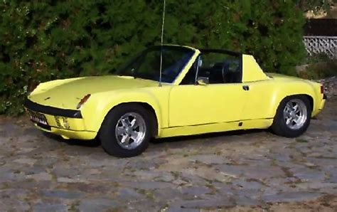 porsche 914 yellow 1972 porsche 914 6 m471 sn 914 243 0123 saturn yellow