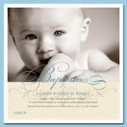 Photo christening invitations handmade by me limited
