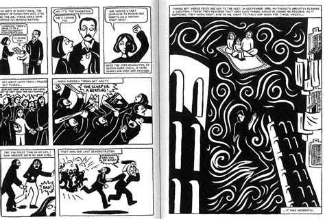 the complete persepolis what kinds of violence appear in persepolis with images