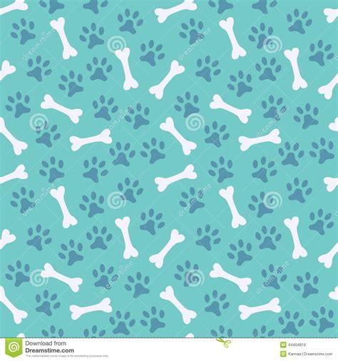 seamless animal pattern vector animal seamless vector pattern of paw footprint stock
