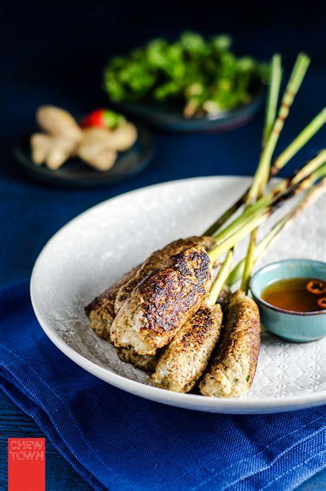 lemongrass chicken skewers recipe chew town food blog
