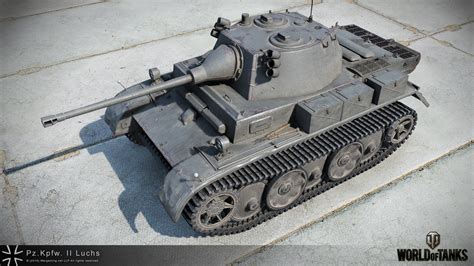 wot ii pz kpfw ii luchs hd renders the armored patrol