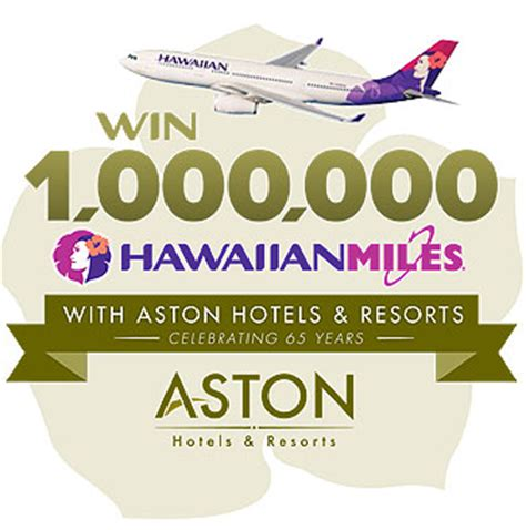 Hawaii Contests Sweepstakes - hawaiian airline sweepstakes for 1 million miles giddy for points
