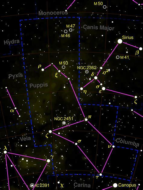 puppis constellation 187 astronom 237 a elemental