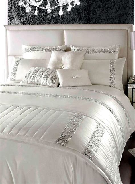by caprice valeria duvet cover whitesilvergrey verycouk luxury bedding kylie minogue satin sequins and elegant