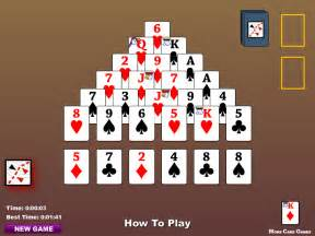 pyramid solitaire instructions