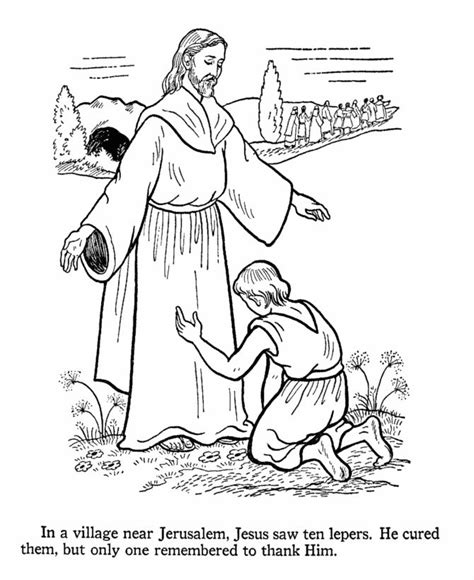 10 best images about jesus heals the ten lepers on