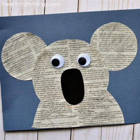 koala craft for best 25 koala craft ideas on