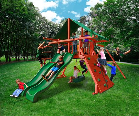 cheap wood swing sets for sale wooden swing sets on sale large image for bright backyard