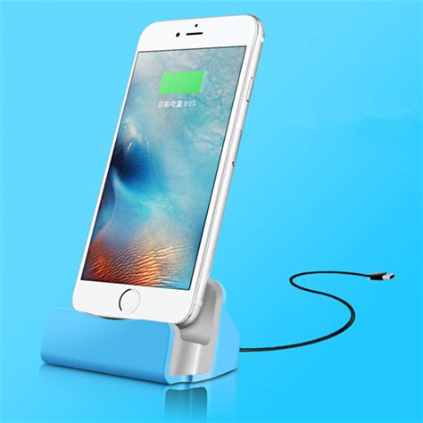 iphone 5s desk stand desktop charger stand dock station sync charge cradle for