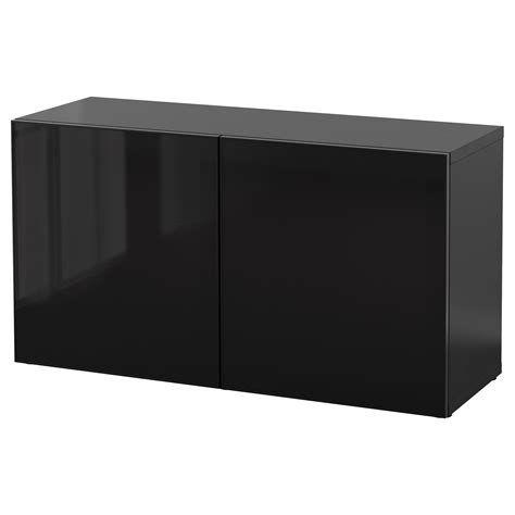 besta shelf unit with glass doors best 197 shelf unit with glass doors black brown glassvik black smoked glass 120x40x64