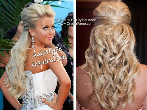 Wedding Hairstyles With Extensions by Julianne Hough Inspired Half Up Bridal Hairstyle Houston