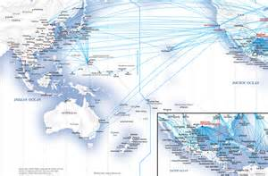 flight routes united states angeles