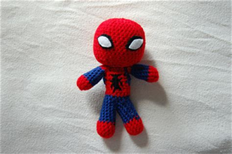 pattern for crochet spiderman doll ravelry spiderman mini doll crochet pattern pattern by
