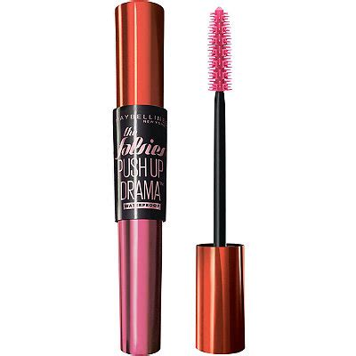 Maybelline The Falsies Push Up Drama Mascara Waterproof Pink Q 2 volum express the falsies push up drama waterproof mascara