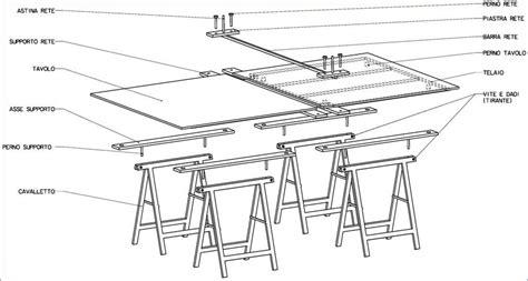 dimensioni tavolo ping pong regolamentare costruire un tavolo da ping pong