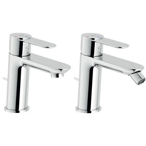 rubinetti nobili nobili miscelatori eco lavabo bidet sand con piletta e