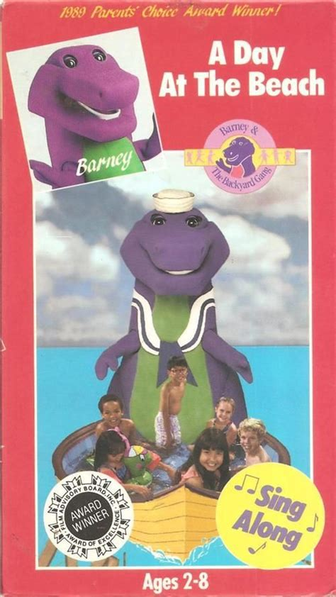 barney and the backyard gang a day at the beach barneyadayatthebeachvhs1990 jpg the beach at the beach