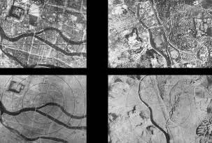 hiroshima vorher nachher aerial photos of hiroshima before and after atom bomb pics