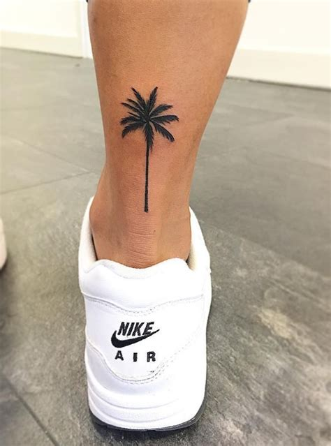 palm tree tattoo inkstylemag