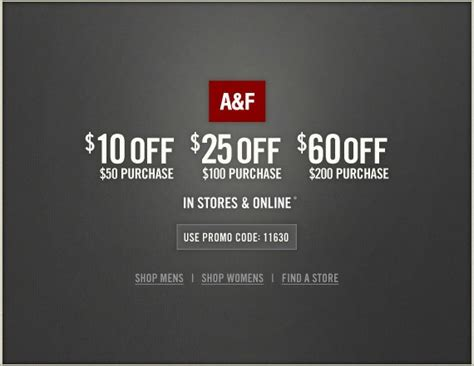 abercrombie fitch coupons 30 off w promo code for abercrombie printable coupons 2017 2018 best cars reviews