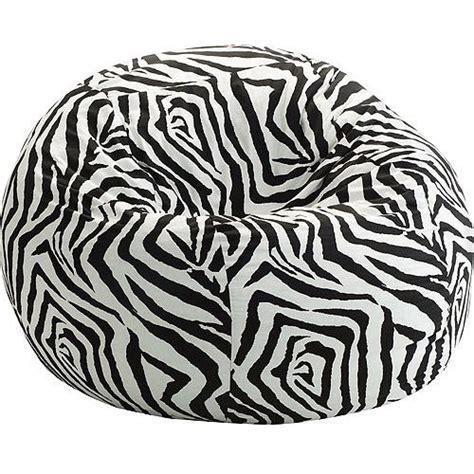Zebra Bean Bag Chair by Zebra Decorations For Bedroom Images Zebra
